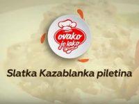 Sehurski meni: Slatka Kazablanka piletina