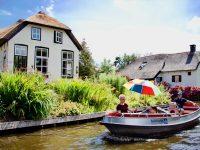 Selo Giethoorn, holandska Venecija: Vožnja kroz selo bez ulica