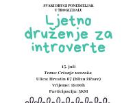 'Druženje za introverte' u Trogledalu
