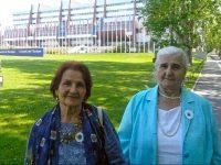 Predstavnice Udruženja Pokret Majke enklave Srebrenica i Žepa u posjeti Vijeću Evrope