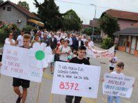 U Odžaku obilježena godišnjica genocida u Srebrenici