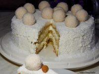 Video recept: Predlažemo vam rafaelo tortu
