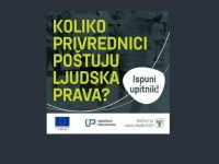 Ispunite upitnik: Koliko privrednici poštuju ljudska prava u BiH?