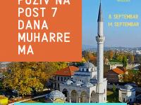 Poziv na post sedam dana mjeseca muharrema 1441. h.g. – Dan Ašure i Bijeli dani