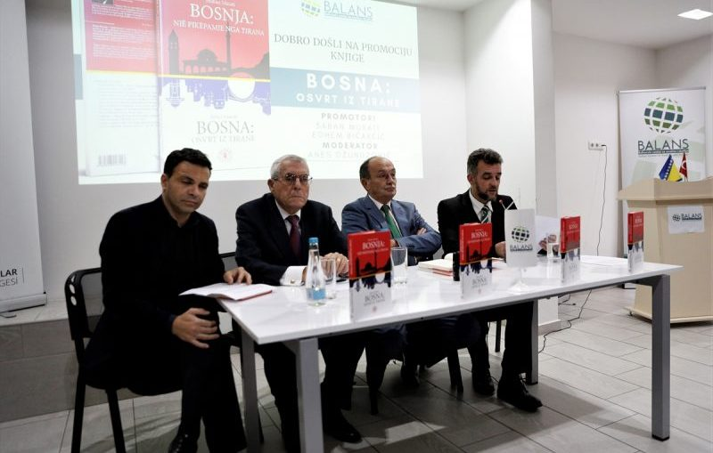 Promovisana knjiga Bosna: Osvrt iz Tirane'