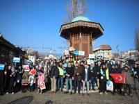 U Sarajevu održana šetnja podrške ujgurskim muslimanima u Kini