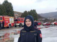 Amina Behlulović: Žena -vatrogasac
