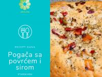 Iftarski meni: Pogača sa povrćem i sirom