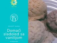 Desert za iftarski meni: Domaći sladoled od vanilije