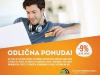 Imtec i Intesa Sanpaolo banka: 9% popusta na cijeli asortiman