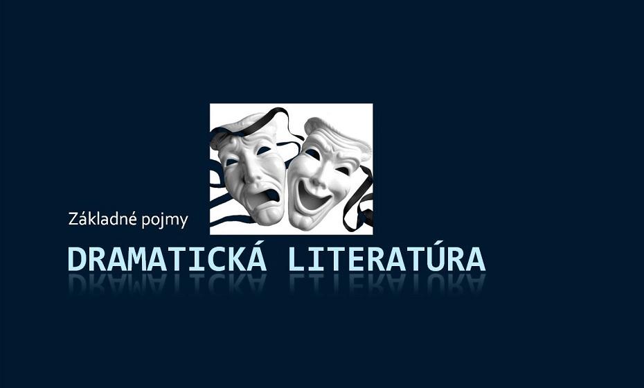 Dráma ako literárny druh