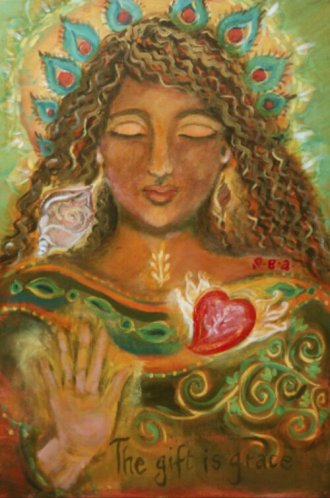 The Gift is Grace by Sigrid Eleonora Ariana http://sigridinsideinspiration.com/2013/02/06/the-gift-is-grace/