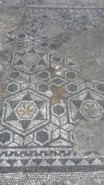 More sacred geometry patterns in the old excavated road in Aquileia, Italy. Photo taken by Trina Otero with Samsung Galaxy Note 2.