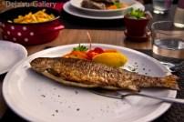 The fish Jessica ordered. Vila Ajda Bled, Slovenia, June 2013. Photo © Deja'vu Gallery
