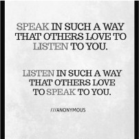 love and how to listen