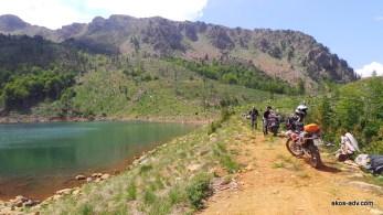 Nad jeziorem Madh