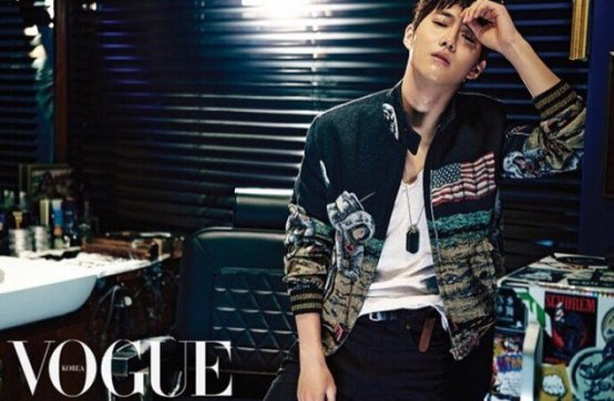 Vogue One Way Trip Suho pictorial