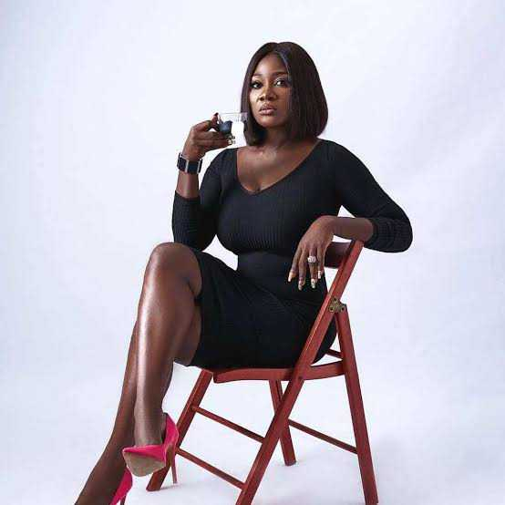 """""""Each time I watch some of your movie! Man like me go Dey cry"""" - Man tells Mercy Johnson"""
