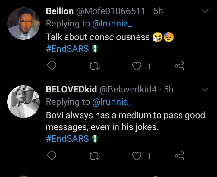 #14thHeadies: Fans troll Bovi because of the outfit he wore last night (Photos)