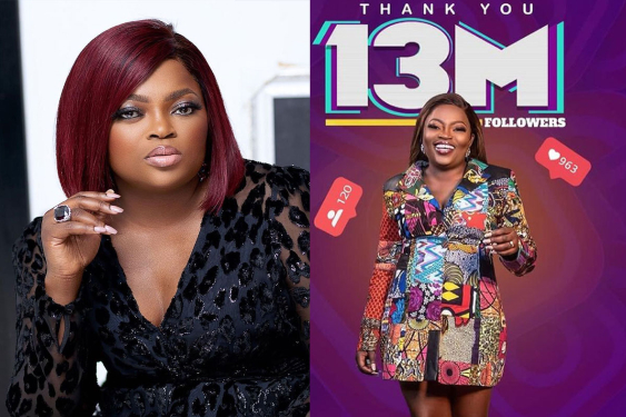 Jubilation As Funke Akindele Becomes The Highest Followed Nollywood Actress