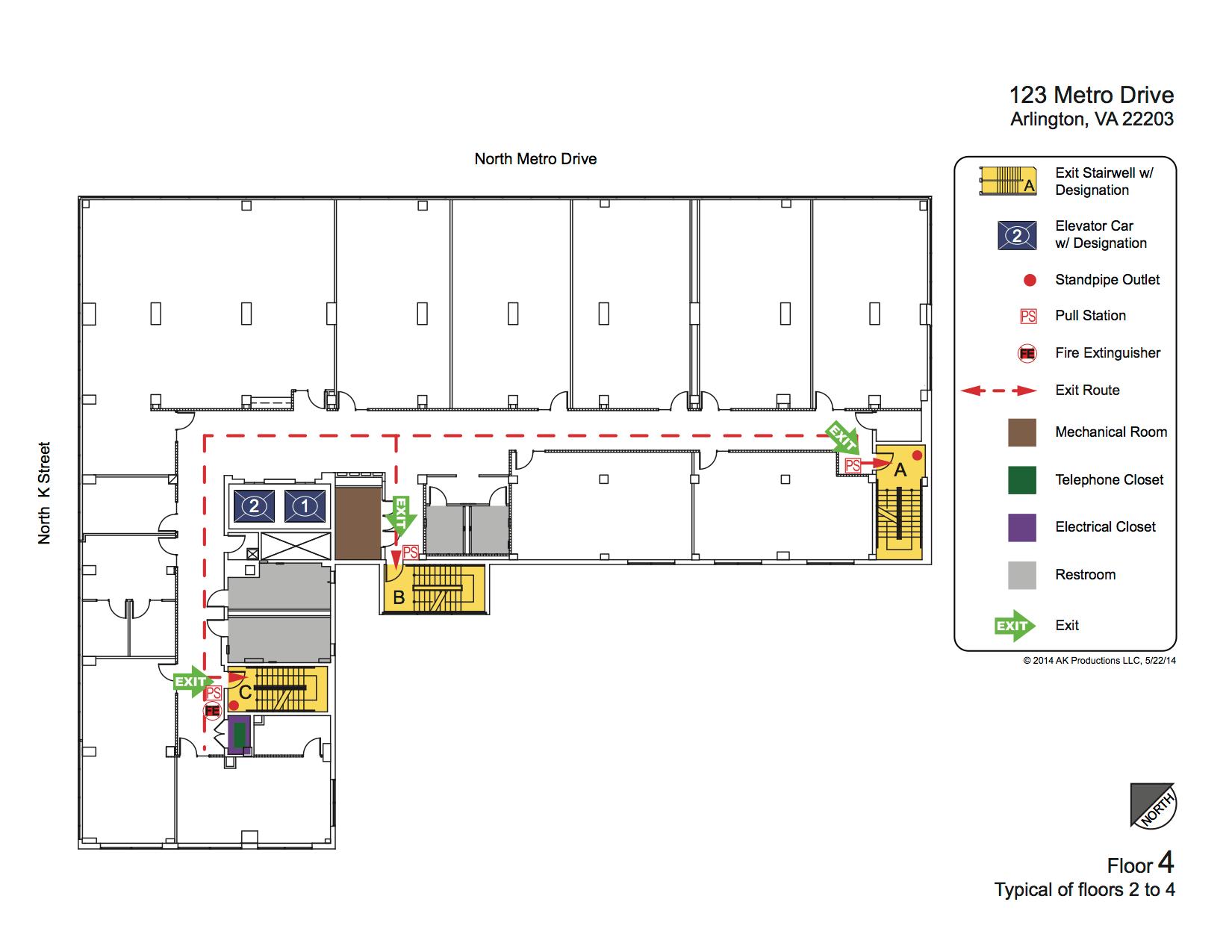 Emergency Plan Diagrams