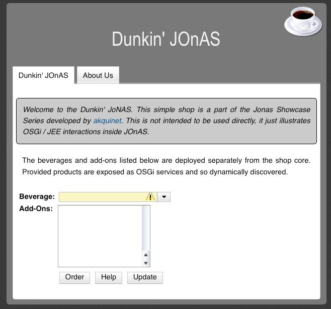 The Dunkin' JOnAS shop