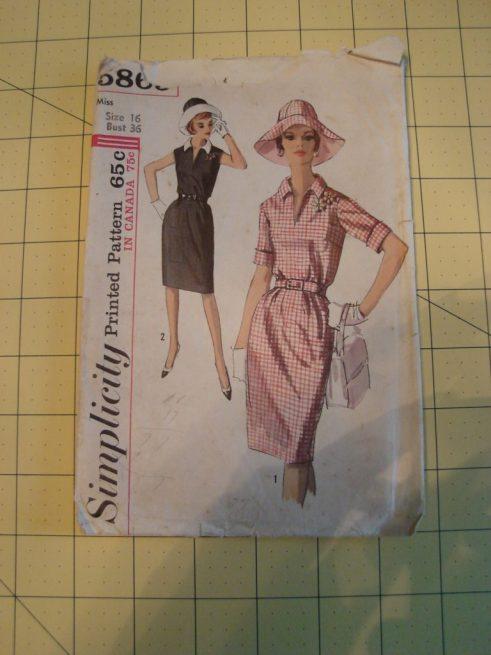 Vintage Simplicity Pattern 5869