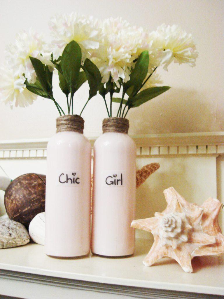 Akram's Ideas: Bottle Vases