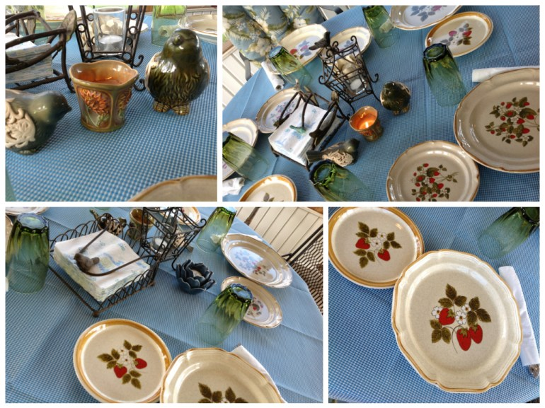 Porch Party table setting