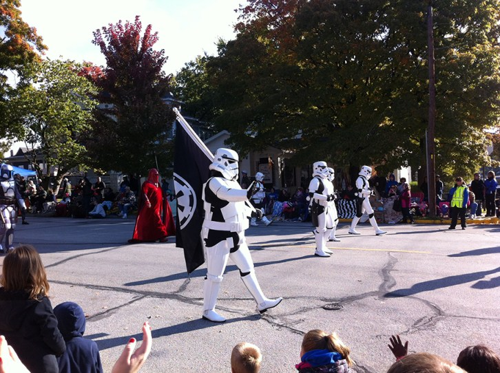 Not every day you see Storm Troopers in a Parade