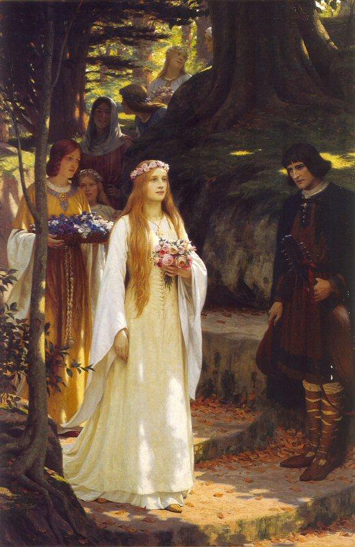 My Fair Lady, by Edmund Blair Leighton