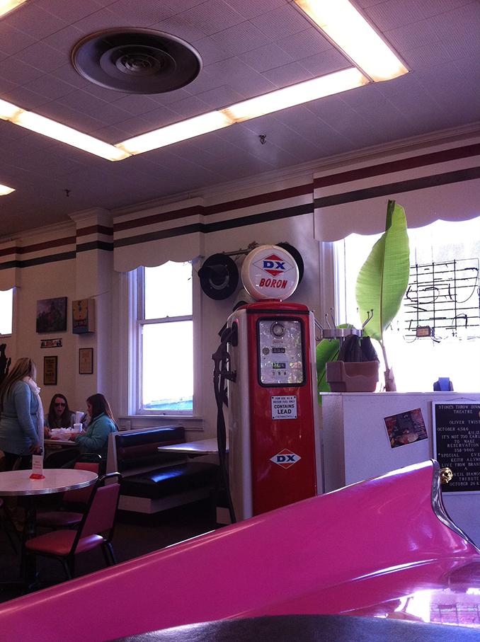 Carthage Deli & Ice Cream retro decor