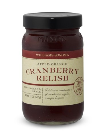 Apple Orange Cranberry Relish from William Sonoma