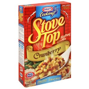 Stove Top Cranberry Stuffing