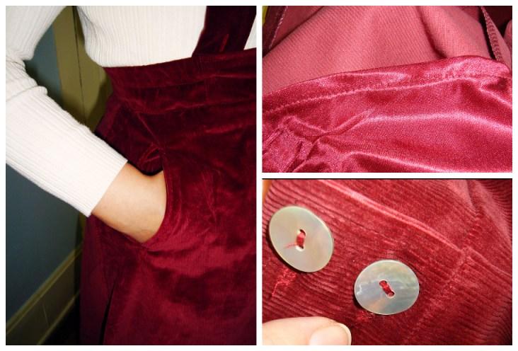 Dirndl Skirt Details