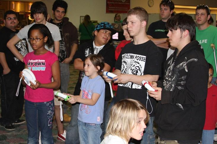 OEGE 2010 Nintendo Wii tournament