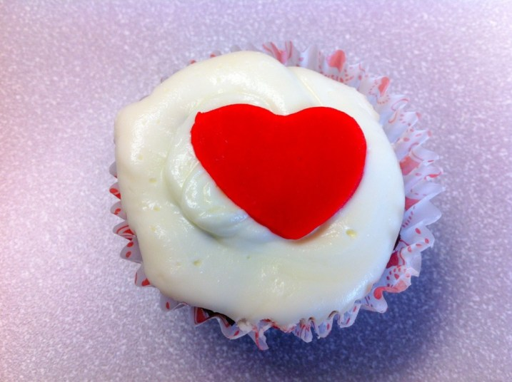 Raspberry Red Velvet White Chocolate Cupcakes