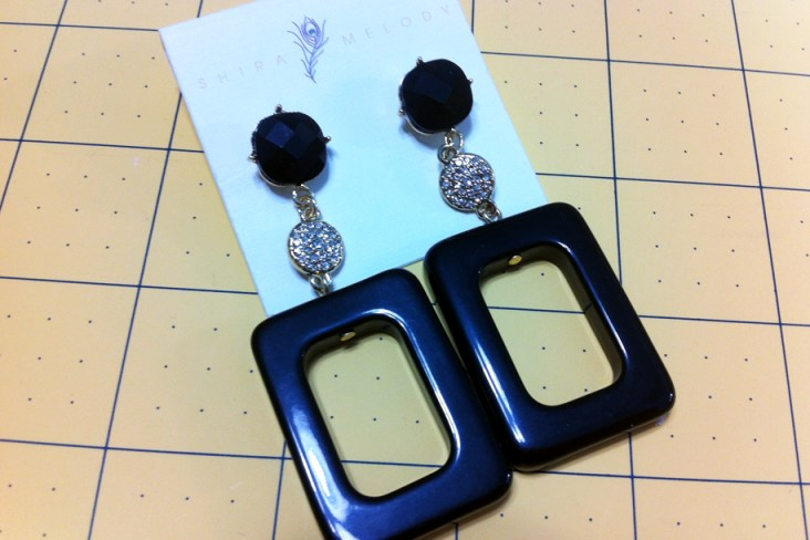 I'm giving away 4 pairs of the Nico Earring set.