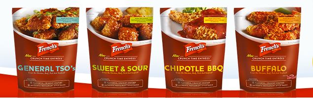 French's Crunch Time Entrees