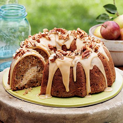 Apple Cream Cheese Bundt Cake