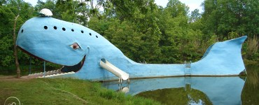 Blue Whale in Catoosa, Oklahoma
