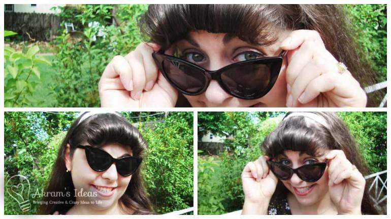 Cat's Eye Cuite Sunglasses