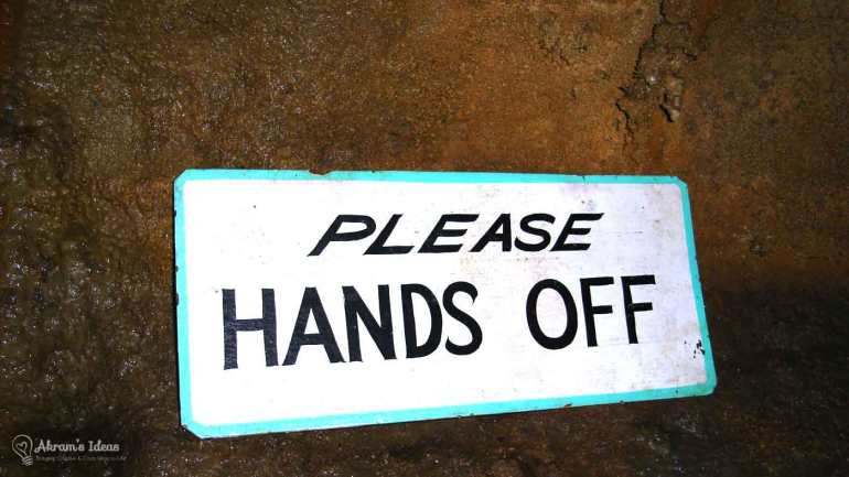Bluff Dweller's Cavern Please Hands Offs