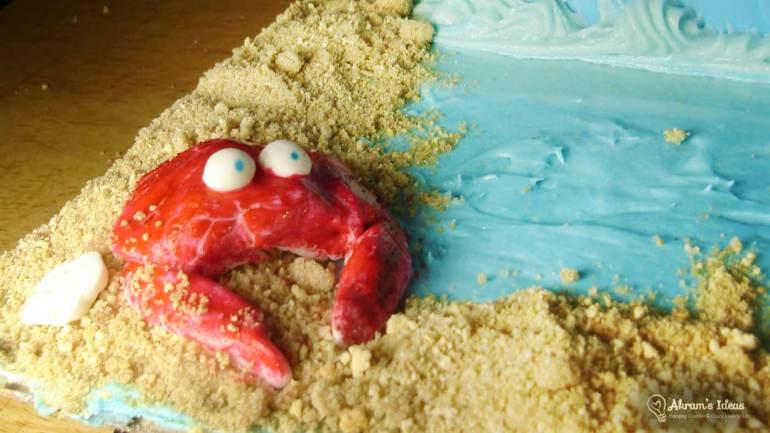 Fondant Crab