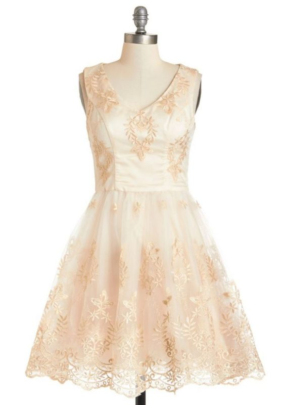 You've got Sparkle Dress By ModCloth