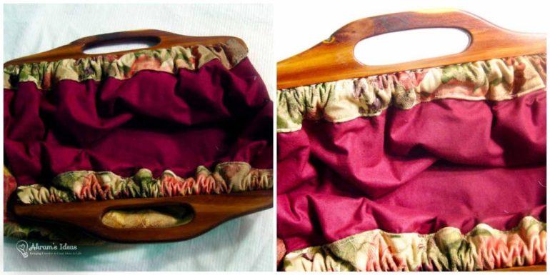 Lining of handbag