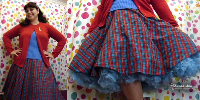 Skirt paired with my Va Va Volumous Pettiecoat