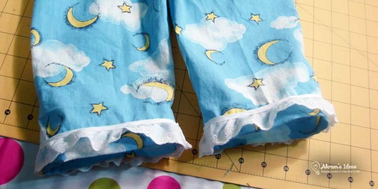 Akram's Ideas: Vintage Simplicity 5103 Pajama pant hem