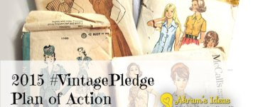 Akram's Ideas: 2015 #VintagePledge Plan of Action