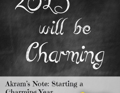 Akram's Note: Starting a Charming Year